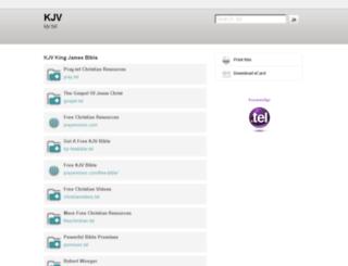 kjv.tel screenshot