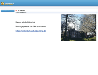 kk.halbooking.dk screenshot