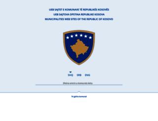 kk.rks-gov.net screenshot