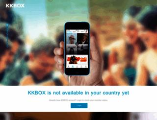 kkbox.com.tw screenshot