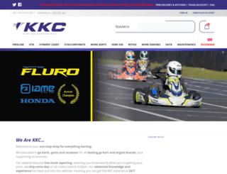 kkckartshop.co.uk screenshot