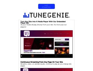 kkdv.tunegenie.com screenshot