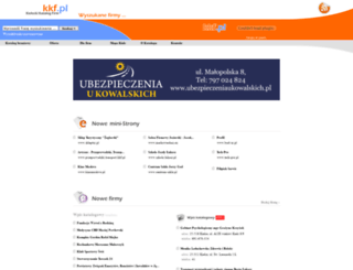 kkf.pl screenshot