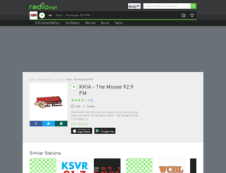kkia.radio.net screenshot