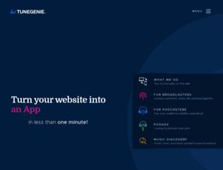 kkiq.tunegenie.com screenshot