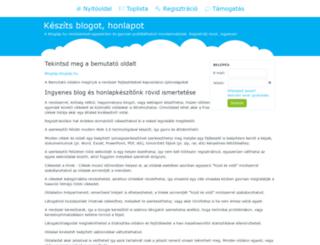 kkm-pps.bloglap.hu screenshot