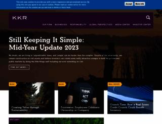 kkr.com screenshot
