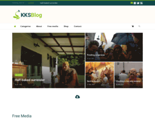 kksblog.com screenshot