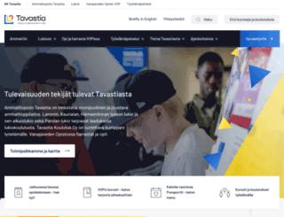 kktavastia.fi screenshot