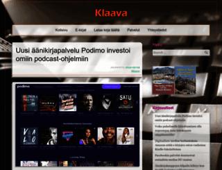 klaava.fi screenshot