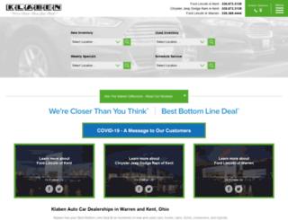 klaben.com screenshot