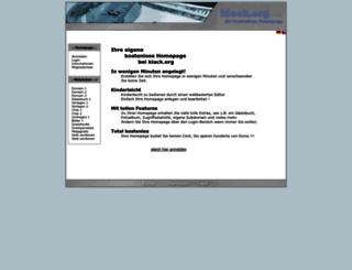 klack.org screenshot