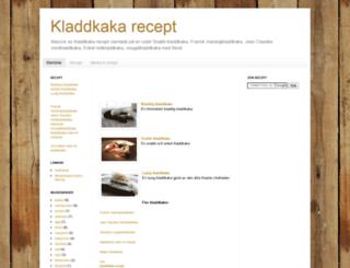 kladdkakerecept.blogspot.com screenshot