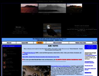 klamathbasincrisis.org screenshot