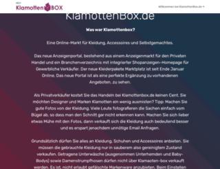 klamottenbox.de screenshot