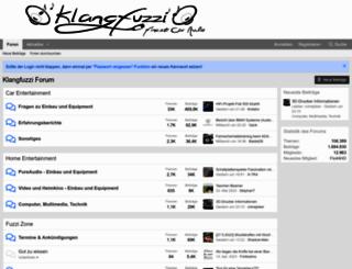 klangfuzzis.de screenshot