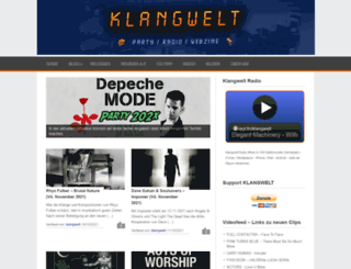 klangwelt-info.de screenshot