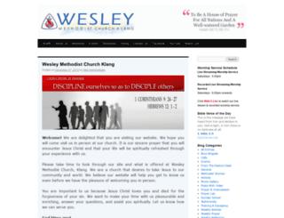 klangwesley.com screenshot