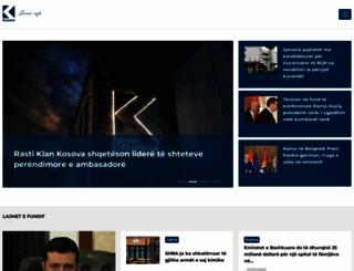 klankosova.tv screenshot