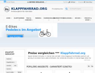 klappfahrrad.org screenshot