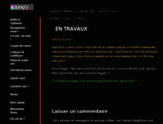 klapsmagazine.com screenshot