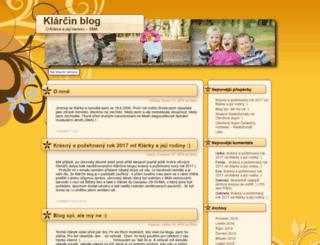 klarcinblog.cz screenshot