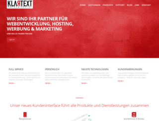 klartextmedia.de screenshot