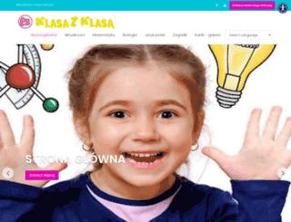 klasa.pl screenshot