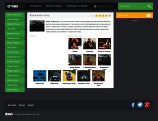 klasikarabayarisi.oyunu.net screenshot