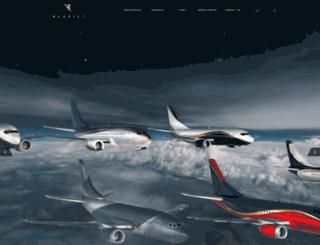 klasjet.aero screenshot