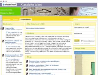 klassieketalen.vakcommunity.nl screenshot