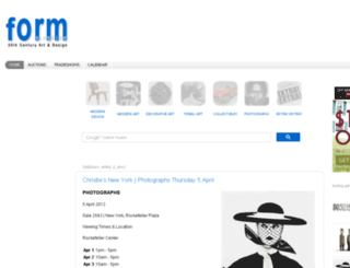 klassiskform.net screenshot