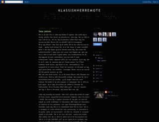 klassiskherremote.blogspot.no screenshot