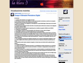 klaupiu.wordpress.com screenshot