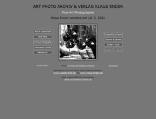klaus-ender.com screenshot