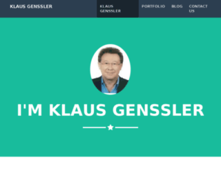 klausgenssler.com screenshot