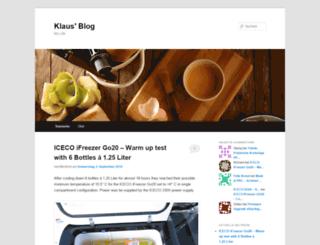 klausnahr.wordpress.com screenshot