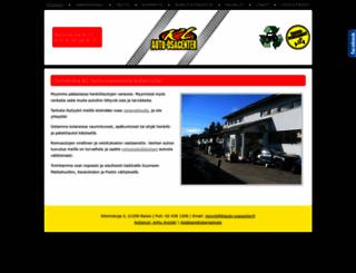 klauto-osacenter.fi screenshot