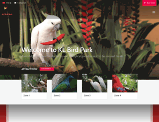 klbirdpark.com screenshot