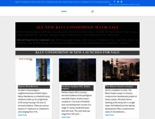 klccproperties.net screenshot