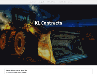 klcontracts.co.uk screenshot