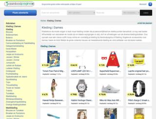 kleding.aanbodpagina.nl screenshot