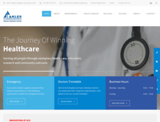 klehospital.org screenshot
