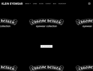 klein-eyewear.com screenshot