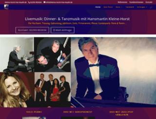 kleine-horst-live-musik.de screenshot