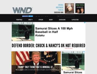 kleinonline.wnd.com screenshot