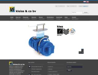 kleiss.nl screenshot