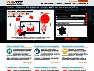 klekoon.com screenshot