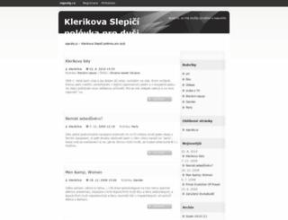 klerikone.signaly.cz screenshot