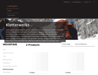 kletterwerks.com screenshot